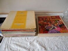 lot de 28 vinyls 33 tours classique + box of 10 vinyls / 100 years d, operettes