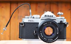 Nikon FM3a the final semi professional analogue top SLR by Nikon