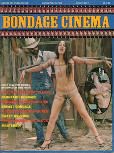 """Collector's item; Lot with 9 issues of """"Bondage Cinema"""" - 1981/1986"""