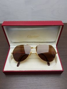 Cartier – Louis Vendome – Santos – Glasses – Men's – 59-14/140