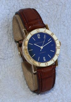 Bvgari BB 33 GL AUTO 18k Rose Gold Automatic  Very Nice  Full Original  33 mm - Unisex Watch - 2000's