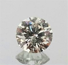 Round Brilliant Cut  - 1.69 carat   -  E color - SI1  clarity - Natural Diamond - Comes With IGL Certificate + Laser Inscription On Girdle