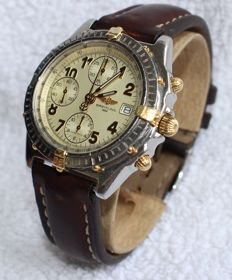 Breitling Chronomat Windrider B13050.1 Automatic Chronograph 18k gold and steel - Men's Watch - 1990's