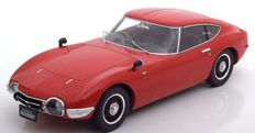 Triple 9 Collection - Schaal 1/18 - Toyota 2000 GT - Rood