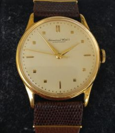 IWC Men's Wristwatch – Calibre 89 – 1951 – Rolled gold plating