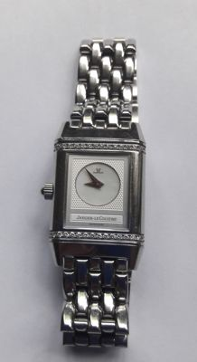 Jaeger-lecoultre Reverso Duetto  ladies watch .