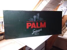 Large zinc advertising sign for Palm from Belgium - 1998.