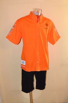Extreme rar Spyker F1 Team / Driver Uniform ( Shirt & Shorts ) - Team Only !!