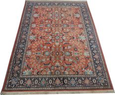 Very pretty and fine Hereke antique carpet - Turkey - Handmade - 188 x 300 cm.