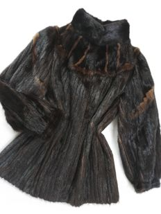 Saga Mink - natural mink fur coat