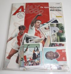 Panini - Ajax 2000 - Complete set with 96 loose stickers + empty album - Factory seal