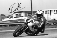 Johnny Cecotto VEN original autograph 20 x 30 cm