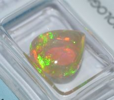 Fire opal – 3.21 ct – No Reserve Price