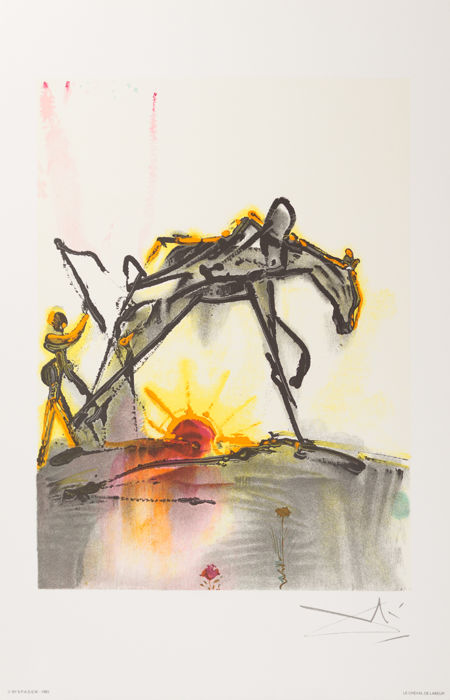 Salvador DALI - Le Cheval de Labeur (The Horse of Labor)