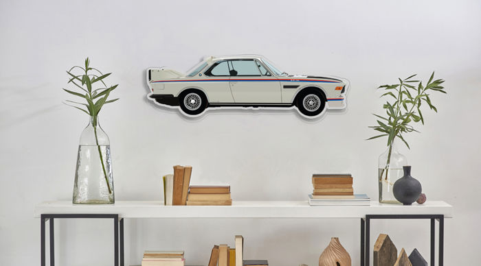 Halmo Collection BMW 3.0 CSL plexiglass model