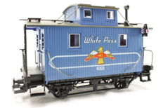 Spoor G - LGB - 4065 - W 03 - Caboose White Pass