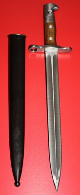 Bayonet for Schmidt-Rubin M1918, Switzerland, mint condition. Victorinox manufacturer, directly from the original case, 20th century.
