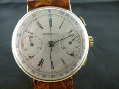 Ipi Watch & Co, gold chronograph – 1940s