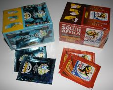 Panini - World Cup Germany 2006 + World Cup South Africa 2010 - 2 boxes in original factory seal + 4 unopened packets.