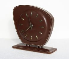 Unknown producer - Leather table clock