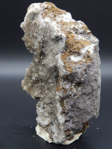 Great Alpine! Aragonite crystals on matrix - 22,5 x 13 x 6 cm - 1561 g