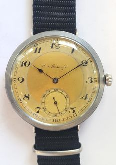 Marriage wrist watch H.Moser & Cie. - Switzerland ,1928 year