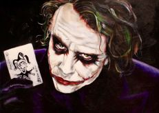 Stephan Evenblij - The Joker - (black) Heath Ledger