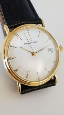Eterna-Matic Gold Limited Edition Orologio da uomo scheletrato.