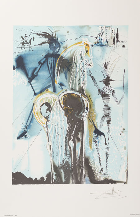 Salvador DALI - Don Quichotte