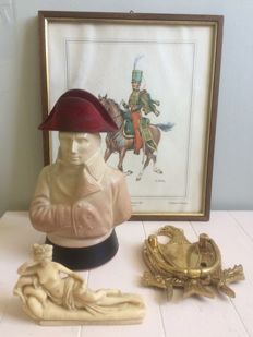 A lot of 4 Napoleon-related items