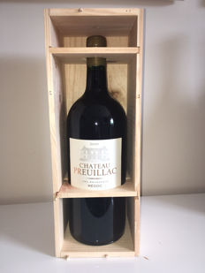 2009 Chateau Preuillac Medoc Cru Bourgois ' Jeroboam 3 litres in wooden case.