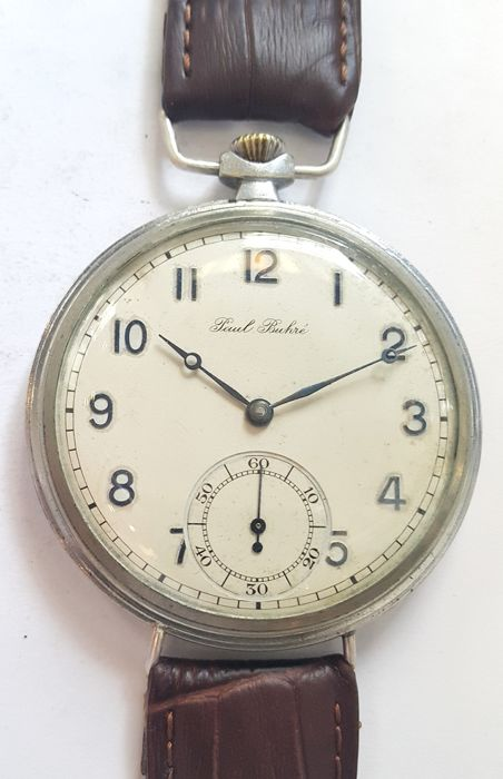Paul Buhre marriage wrist watch - Switzerland, 1925 year