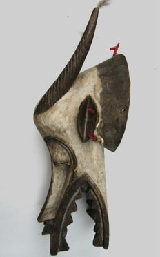 Splendid mask of fire-eater SENOUFO - Ivory Coast
