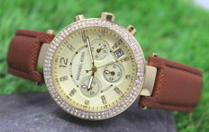 Michael Kors – Ladies Parker Gold Plated Designer Watch - Used