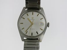 Omega Wristwatch with Steel Band Swiss 1960