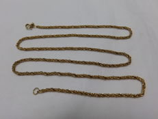 Cord Necklace in 18 kt Gold – 60 cm