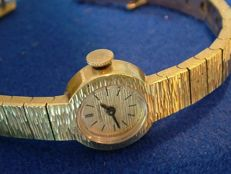 Vintage Longines / 18K Gold Plated Ladies' analog watch / 1960s in good condition