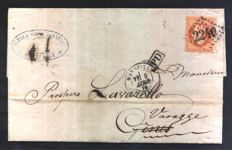 France and other European countries – assortment of postage and envelopes of the period
