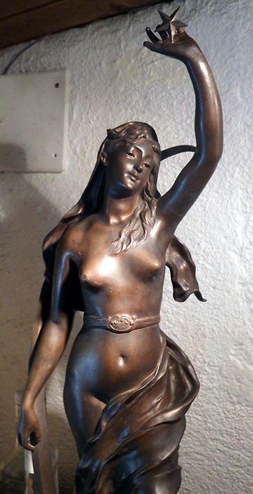 Henri Louis Levasseur (1853-1934) - Bronze 'L' Étoile du Berger' - France - late 19th century
