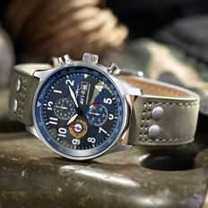 AVI-8 - Hawker Hurricane Chronograph - 2017, Unworn Complete in Box