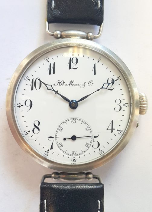 Early marriage wrist watch H. Moser & Cie - Switzerland ,1900s