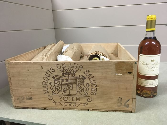 1984 Chateau d'Yquem, Sauternes, France - 8 bottles (75cl) in OWC