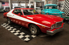 1975 FORD Gran Torino V8 351 cui in Starsky & Hutch Style - Cult 70s TV Series!
