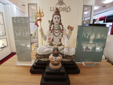 Lord Shiva with Lingam Refs; 1981 & 9249 - Lladró Limited Edition Set 056/720