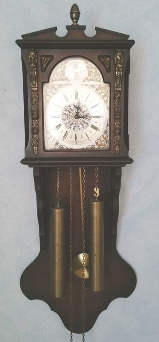 Wall clock Tempus Fugit – 2nd half of the 20th century