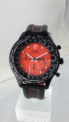 DETOMASO-FIRENZE-MARKS-A-MAN-MEN'S CHRONOGRAPH circa 2011.    Shipping fifty-fifty!!!