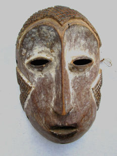 Very old LEGA Mask - Congo