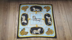 Collector's Scarf: Hermès – 'Grand Apparat' designed by Jacques Eudel in very good condition