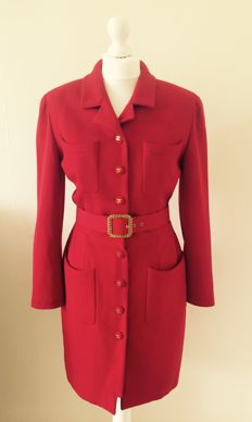 Chanel Vintage Coat Dress