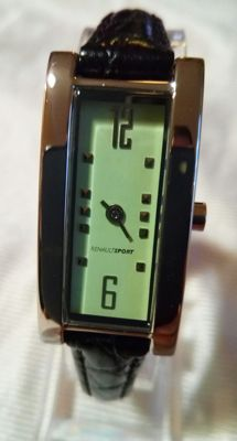 Renault Sport - women watch with leather band - 1988